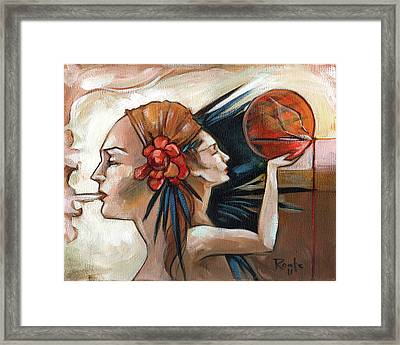 Skecthbook Framed Print by Jacque Hudson