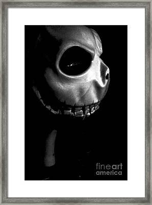 Skellingtonominous Framed Print by Xn Tyler