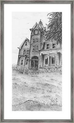 Skene Framed Print by April Higney