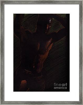 Sketch Number Twelve Framed Print by Robert D McBain