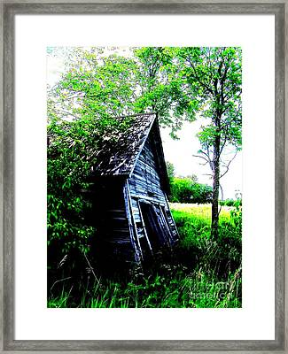 Skewed 3 Framed Print by The Stone Age