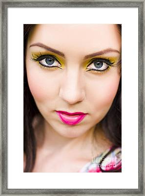 Skin Beauty And Cosmetics Framed Print by Jorgo Photography - Wall Art Gallery