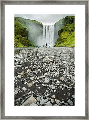 Skogarfoss Iceland Framed Print by Mirra Photography