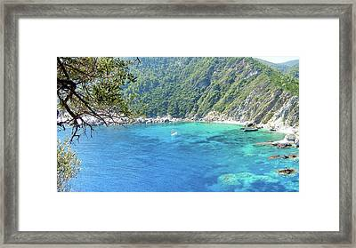 Skopelos Sea View. Framed Print by Daniele Zambardi