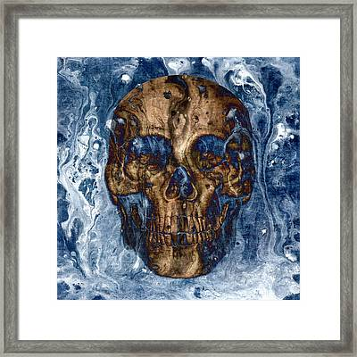 Skull Art 1 Framed Print by Sumit Mehndiratta