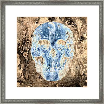 Skull Art 3 Framed Print by Sumit Mehndiratta