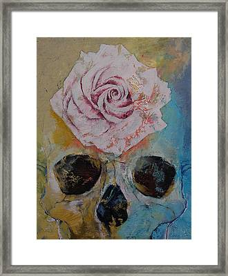 Rose Framed Print by Michael Creese