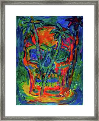 Skull Island Stage One Framed Print by Kendall Kessler