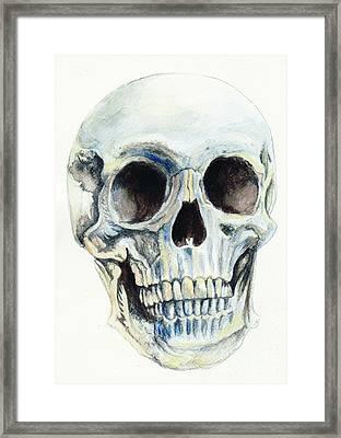 Skull Framed Print by Morgan Fitzsimons