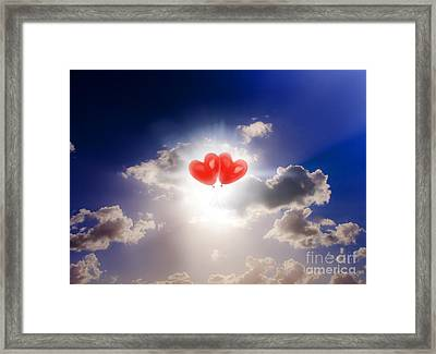 Sky Bound Romance Framed Print by Jorgo Photography - Wall Art Gallery