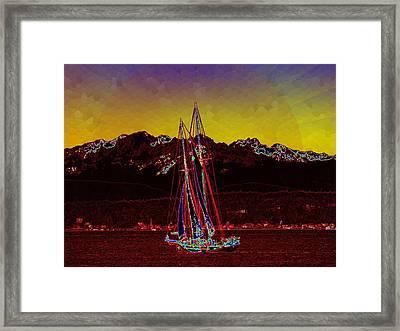 Sky Diamonds Framed Print by Tim Allen
