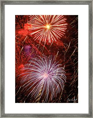 Sky Explosion Framed Print by Phill Doherty
