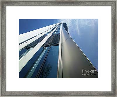 Sky Garden - London Framed Print by Hanza Turgul