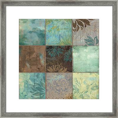 Sky Patches I Framed Print by Mindy Sommers
