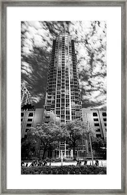 Sky Point Framed Print by Marvin Spates