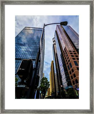 Sky Scraper Framed Print by Phil Fitzgerald