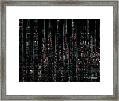 Skyline 4 Framed Print by Steve K