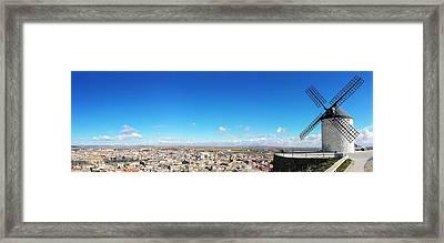 Skyline Consuegra Framed Print by Jose Flores