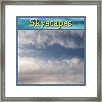 Skyscapes Gallery Icon Framed Print by Glenn McCarthy Art and Photography