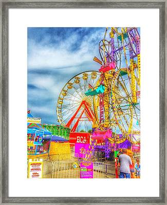 Skyscrapers Of Fun Framed Print by Jame Hayes