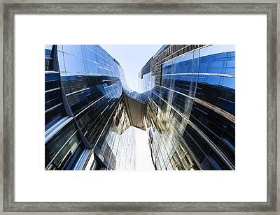 Skyward Projection Framed Print by Toni Guerra