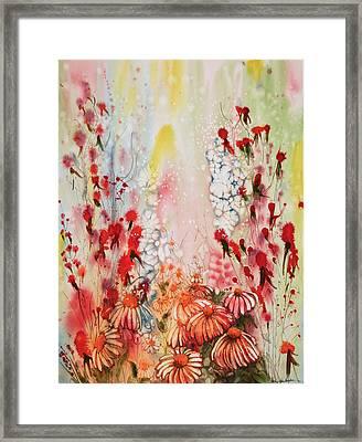 Skyward Framed Print by Shirley Sykes Bracken