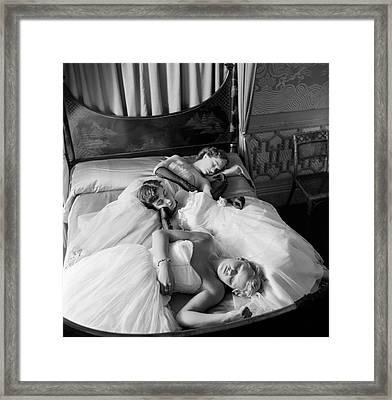 Sleeping Beauties Framed Print by Thurston Hopkins