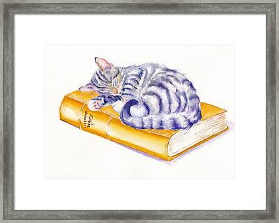 Sleeping Beauty Framed Print by Debra Hall