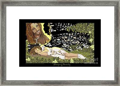 Sleeping Beauty Framed Print by Lisa  Albinus