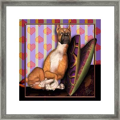 Sleeping II Framed Print by Nik Helbig