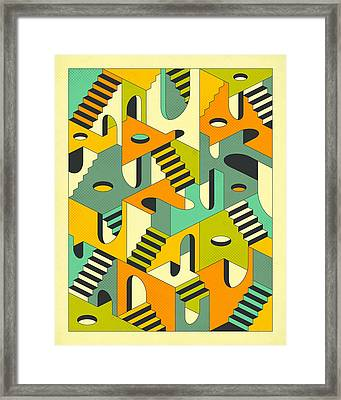 Sleepwalking Framed Print by Jazzberry Blue
