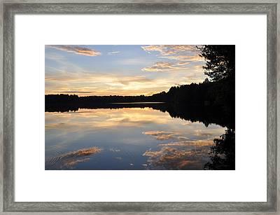 Slice Of Heaven Framed Print by Luke Moore