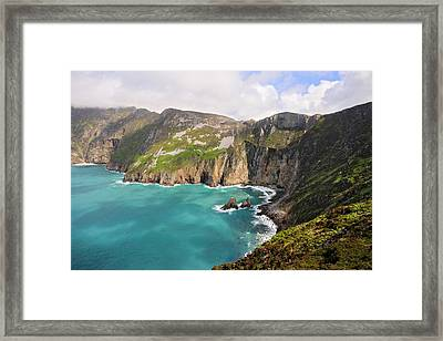Slieve League Donegal Ireland Framed Print by Pierre Leclerc Photography