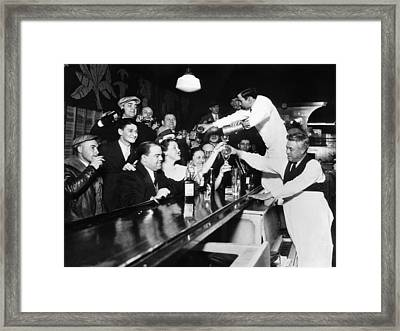 Sloppy Joes Bar, In Downtown Chicago Framed Print by Everett