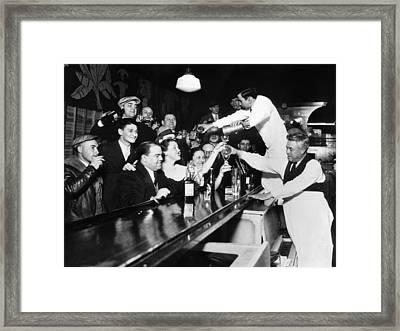 Sloppy Joes Bar, In Downtown Chicago Framed Print by Everett