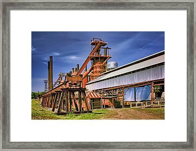 Sloss Furnaces - 2 - Birmingham Framed Print by Nikolyn McDonald