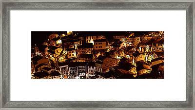 Small Village Framed Print by Thomas M Pikolin