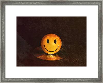 Smile Framed Print by Peter Chilelli