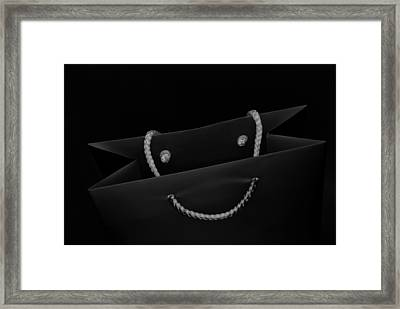 Smile Framed Print by Wendy