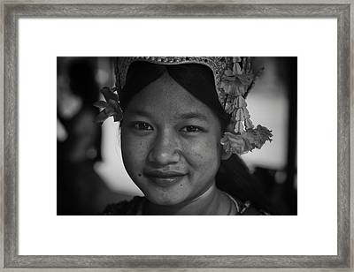 Smiles Of A Dancer Framed Print by David Longstreath