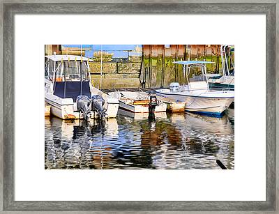 Water Color Framed Print by Diana Angstadt