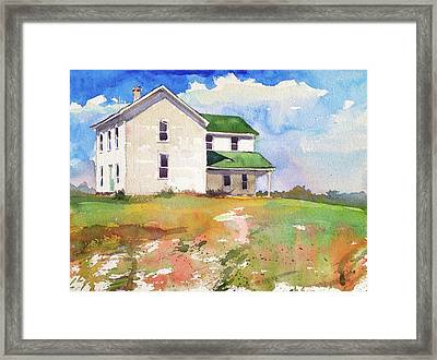 Smith Farm Est. 1884 Framed Print by Spencer Meagher