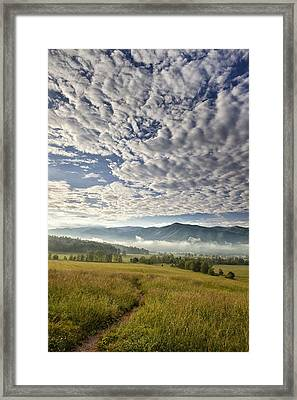 Smokies Cloudscape Framed Print by Andrew Soundarajan