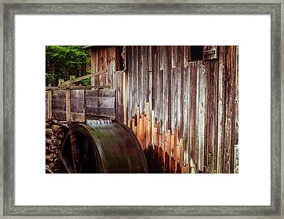 Smokies Mill Framed Print by Andrew Soundarajan