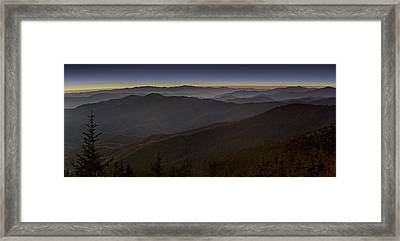 Smoky Framed Print by Jonas Wingfield