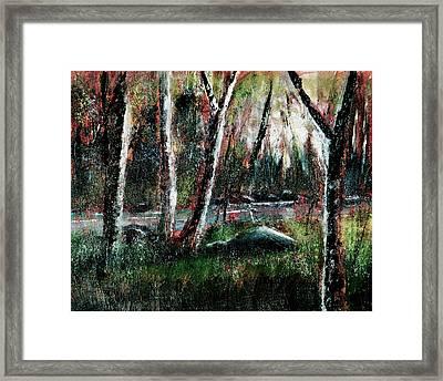 Smoky Mountain Dawn Framed Print by Barry Jones