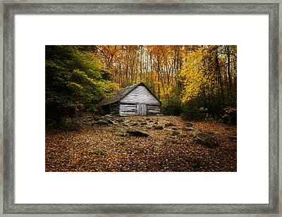 Smoky Mountain Homestead Framed Print by Johan Hakansson