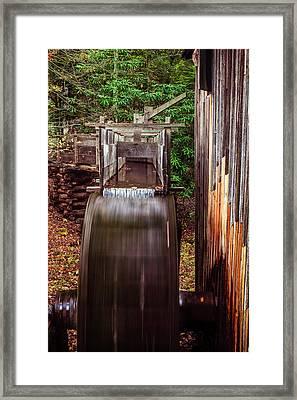 Smoky Mountain Mill Framed Print by Andrew Soundarajan
