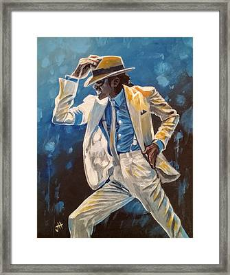 Smooth Criminal Framed Print by Jennifer Hotai