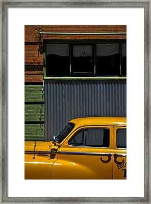 Smooth Operator Framed Print by Skip Hunt